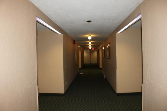 Best Western The Westerly Hotel: View down hallway