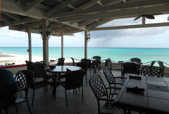 Sand Castle On The Beach Side Cafe