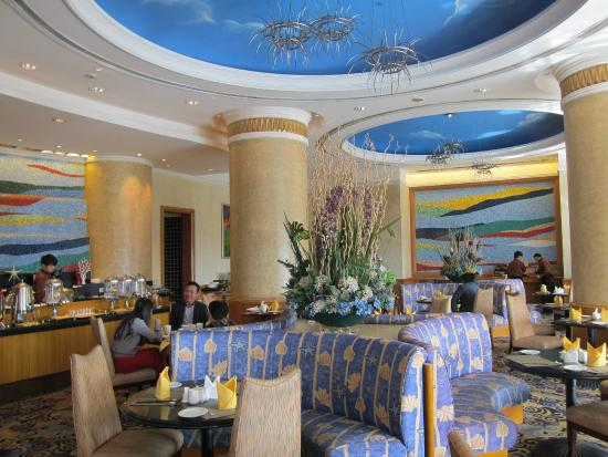Parkview Dingshan Hotel: The dining room in this two faced establishment!