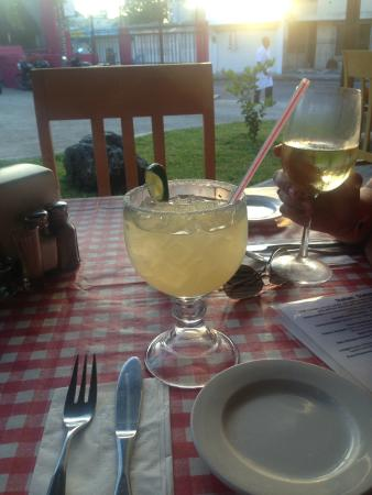 Prima Trattoria : Marvelous Margarita!