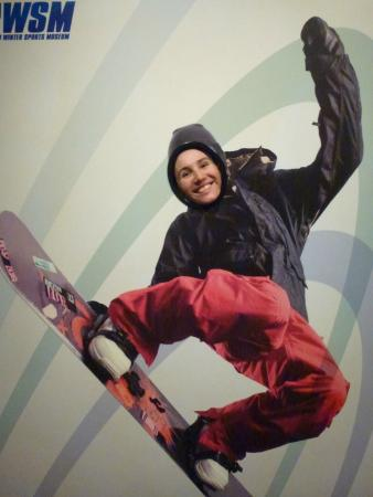 Sapporo Winter Sports Museum: Wanna become a snowboarder?