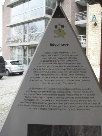 Diksmuide, België: Bégunage