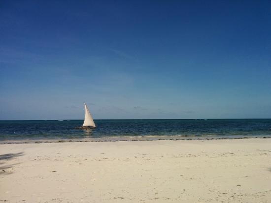 Zanzibar Retreat Hotel : Fiskebåt