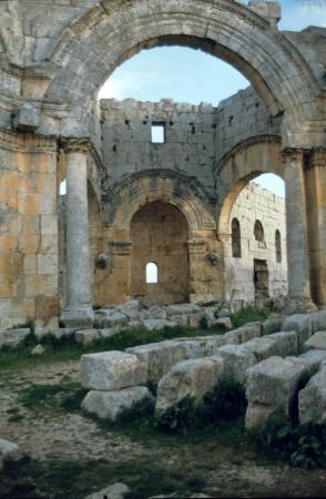 Saint Simon Citadel (Sam'an Citadel, Qalat Samaan) : Simonskloster