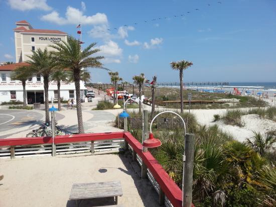 Joe S Crab Shack Beach Boardwalk From