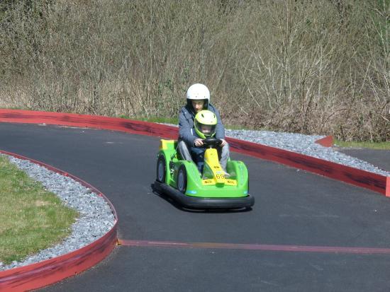 The Dinosaur Park: Le Dino racing