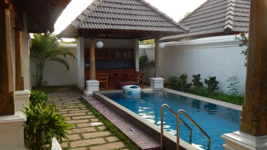 Luxury pool villa at le pondy pondicherry picture of le pondy pondicherry tripadvisor Budget hotels in pondicherry with swimming pool