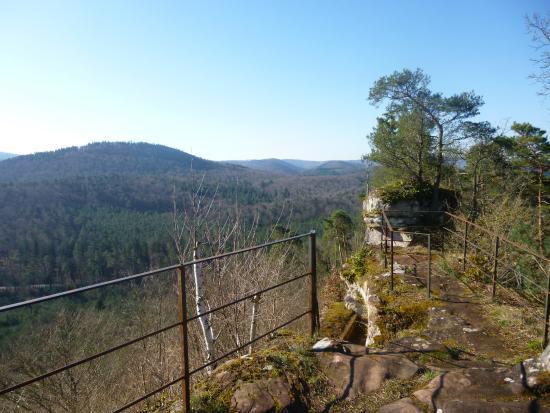 Obersteinbach, Fransa: Point de vue d'en haut