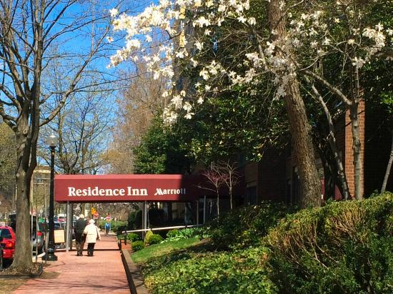 Residence Inn Washington, DC/Foggy Bottom: Beautiful neighborhood
