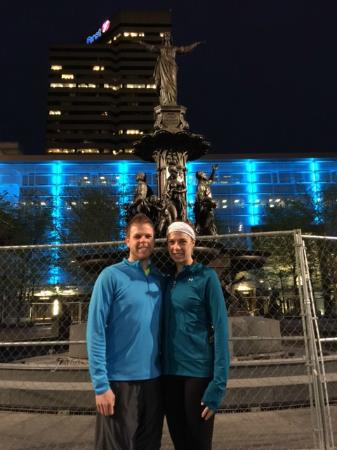 Cincinnati Running Tours: April 14 Downtown Riverfront Tour