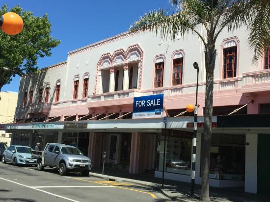 Commercial Building Napier City Centre New Zealand Picture Of