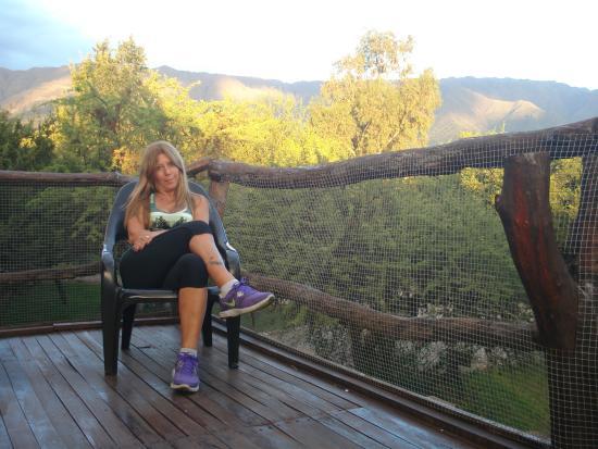 Disfrutar De La Terraza De La Cabaña Picture Of Maia