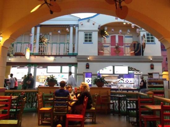 Disney S Caribbean Beach Resort Food Court At Town Center
