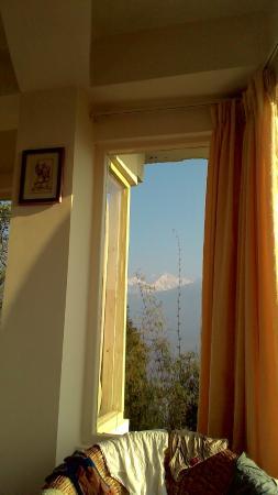 Floret Pelling: Kanchanjangha view from the room