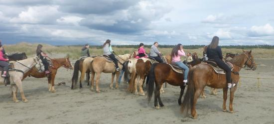 Ocean Shores, WA: Return From the Beach...