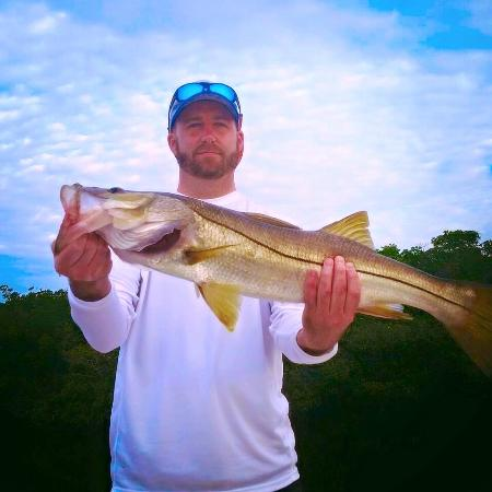 Steady Action Fishing Charters: snook