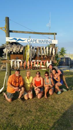 Arts Adventures - Private Charters: Our take home catch