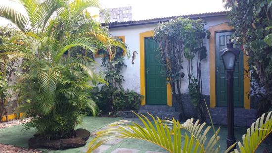 Pousada Paraty Inn: Jardim interno