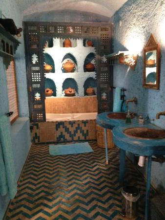 Riad Lune et Soleil: Bathroom