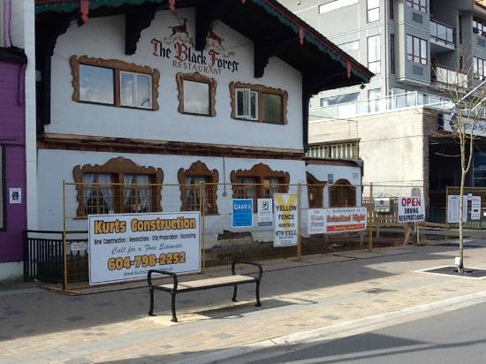Black Forest Steak & Schnitzel : Renovations/expansion, early-April, 2015