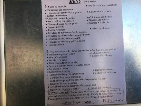 Covadonga: La carta del miercoles