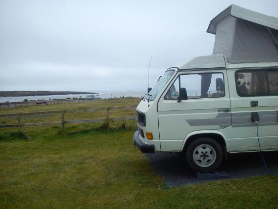 Rosses Point Caravan and Camping Park: Sea views