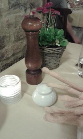Locanda dell'Arco : il nostro tavolo