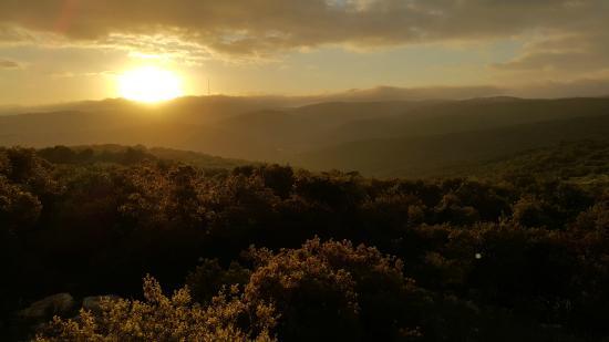 Ajloun Forest Reserve: Sunrise