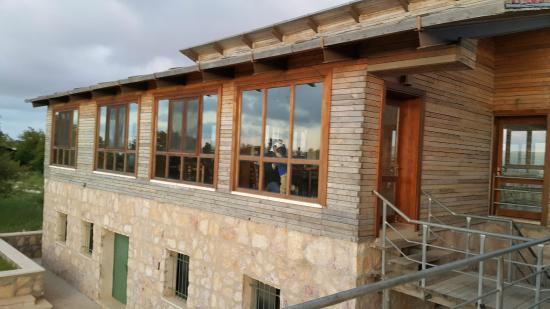 Ajloun Forest Reserve: Terrace & Hall