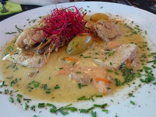 Brasserie 't Stropke : fish waterzooi