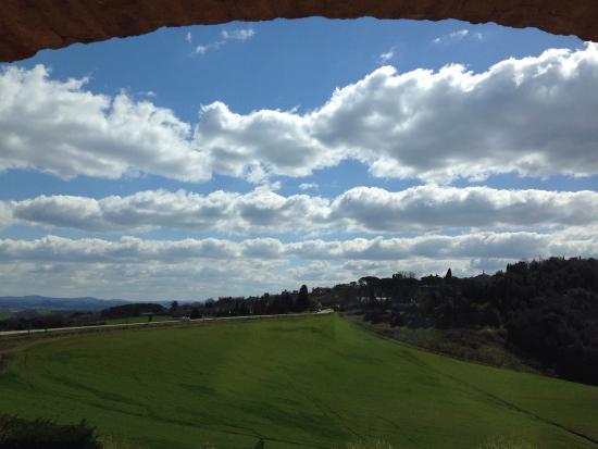 Bosco della Spina: Vista dall'appartamento