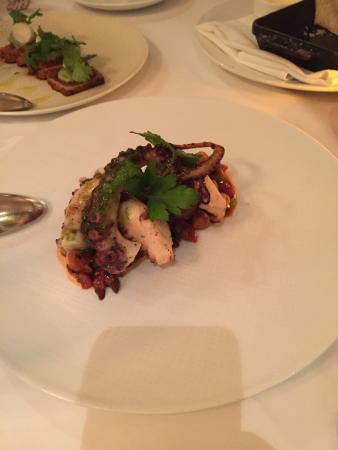 Aretsky's Patroon: Délicieuse Octopus salad