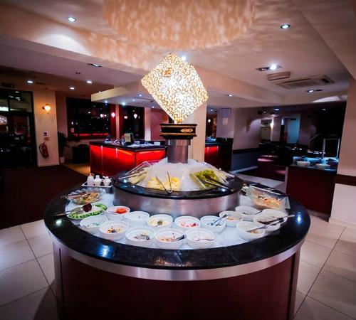 salad bar picture of buffet island birmingham tripadvisor. Black Bedroom Furniture Sets. Home Design Ideas