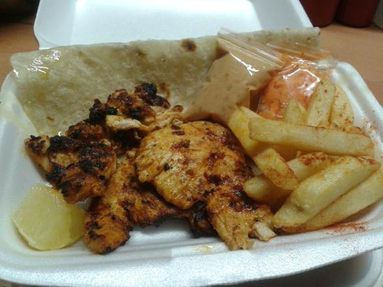 Chicken Tikka Picture Of The Hot Spot Food Fusion Richards Bay