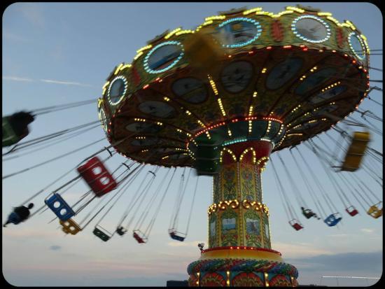 Steel Pier Amusement Park: Atracción en el Steel Pier