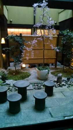 Kyomachiya Ryokan Sakura Honganji: jardim
