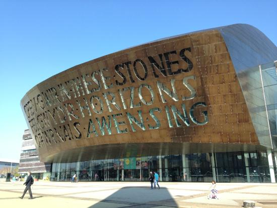 My seating - Picture of Wales Millennium Centre, Cardiff ...