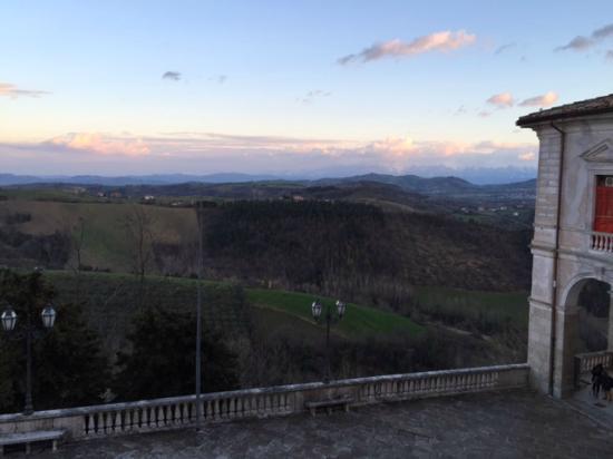 Hotel & Ristorante Zunica 1880: View from room of Gran Sasso
