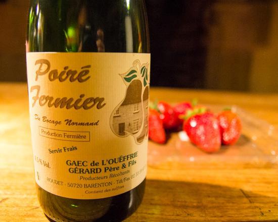 Barenton, Prancis: pear cider