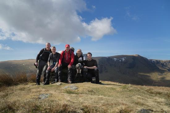 Droylsden, UK: With Guests on Souther Fell