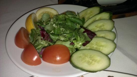 New Haweli: salad