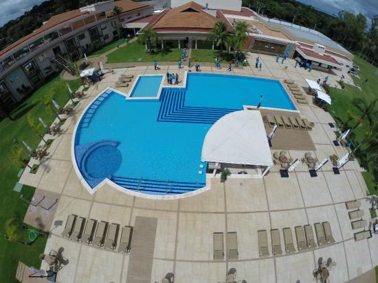 Piscina fotograf a de awa resort hotel encarnacion for Hotel luxsur encarnacion