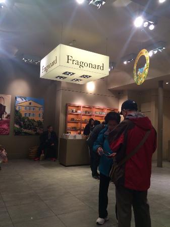 Fragonard Scribe Museum: All'interno.