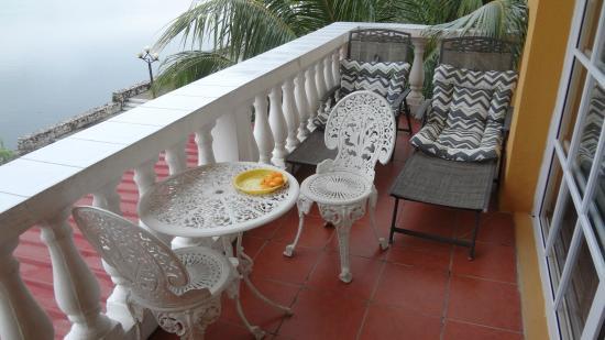 Balcón Terraza Habitación Picture Of Hotel Villa Del Lago