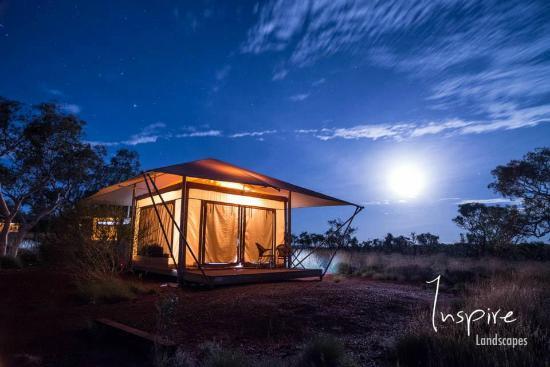 Moonrise Next To My Tent Picture Of Karijini Eco Retreat