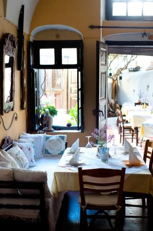 Candouni Restaurant : From the inside of the Captain's house