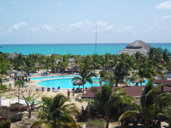 Hotel Ole Playa Blanca: view from room 426 and 424