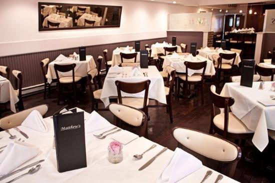 Table Setting - Picture of Matthew\'s Italian Restaurant, Clifton ...