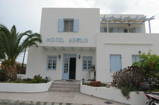 Hotel Aeolis: Entrada do Hotel