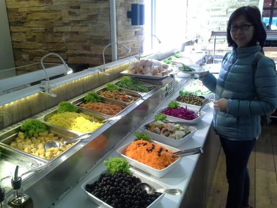 Restaurant New Ankara: The Salads Spread